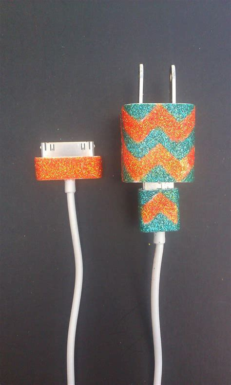 DIY: customize your phone charger - noelle o designs