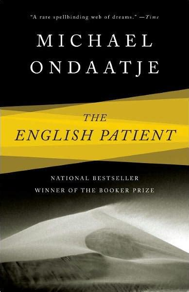 The English Patient by Michael Ondaatje, Paperback