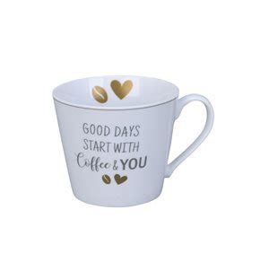 """Krus med hank - Good days start with Coffee & You"""""""