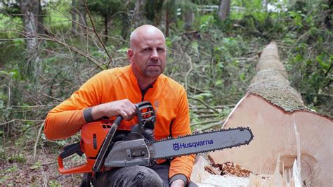 First Review of the New Husqvarna 572XP   Forestry