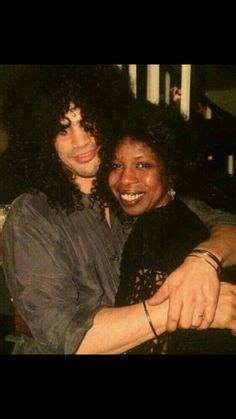 Slash and his late Mother